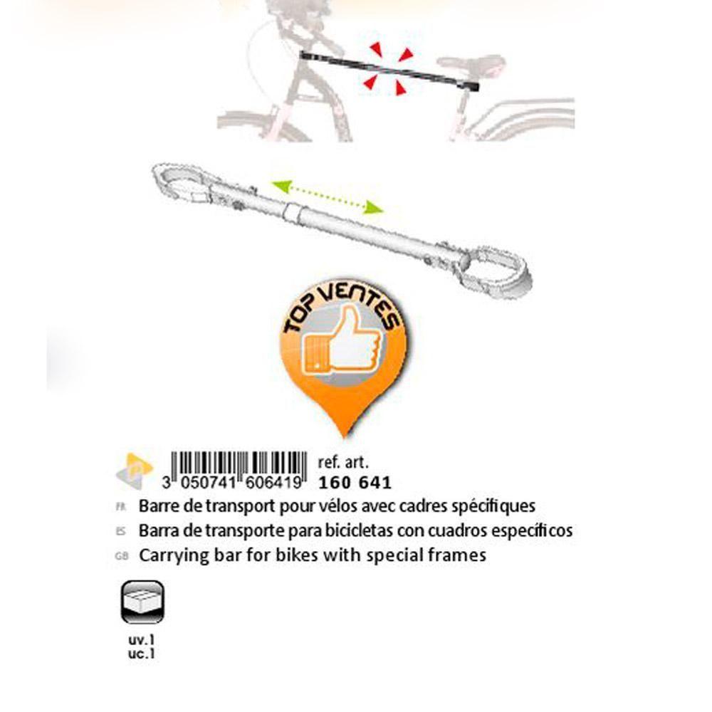 Barra Transporte de Bicicletas Green Valley 641 folleto