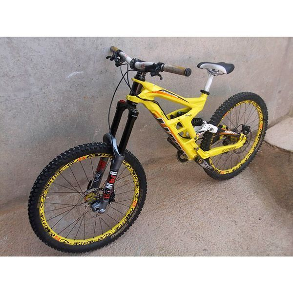 Bicicleta Mtb dh Segunda mano Scott Gambler 10 26 vista aerea