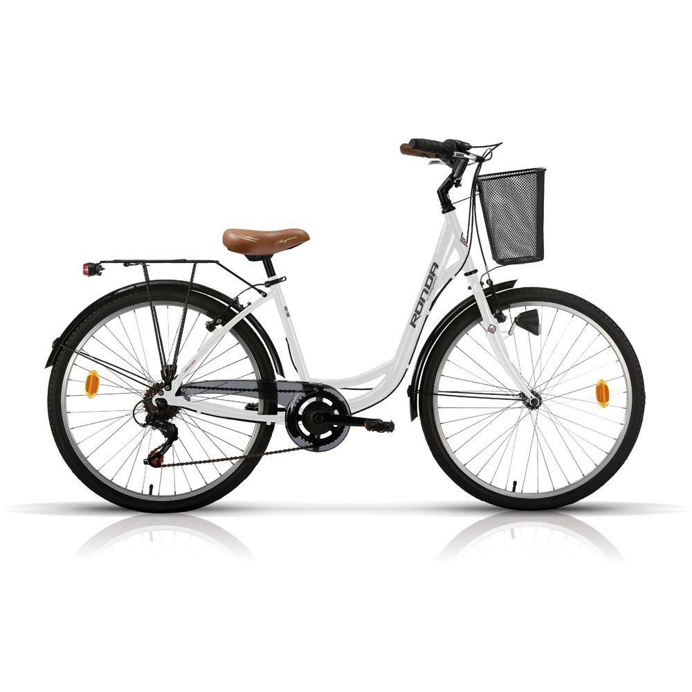 Bicicleta Paseo Megamo Ronda 26 2017 blanca