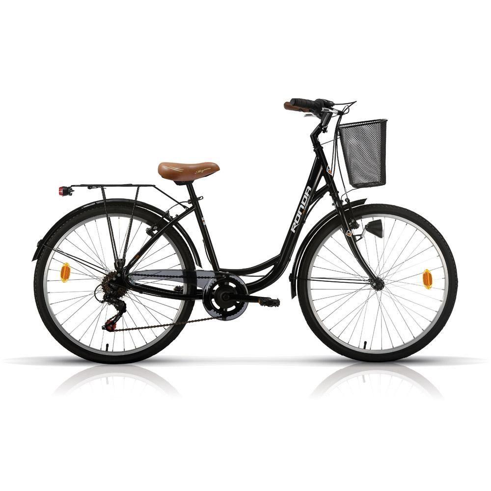 Bicicleta Paseo Megamo Ronda 26 2017 negra