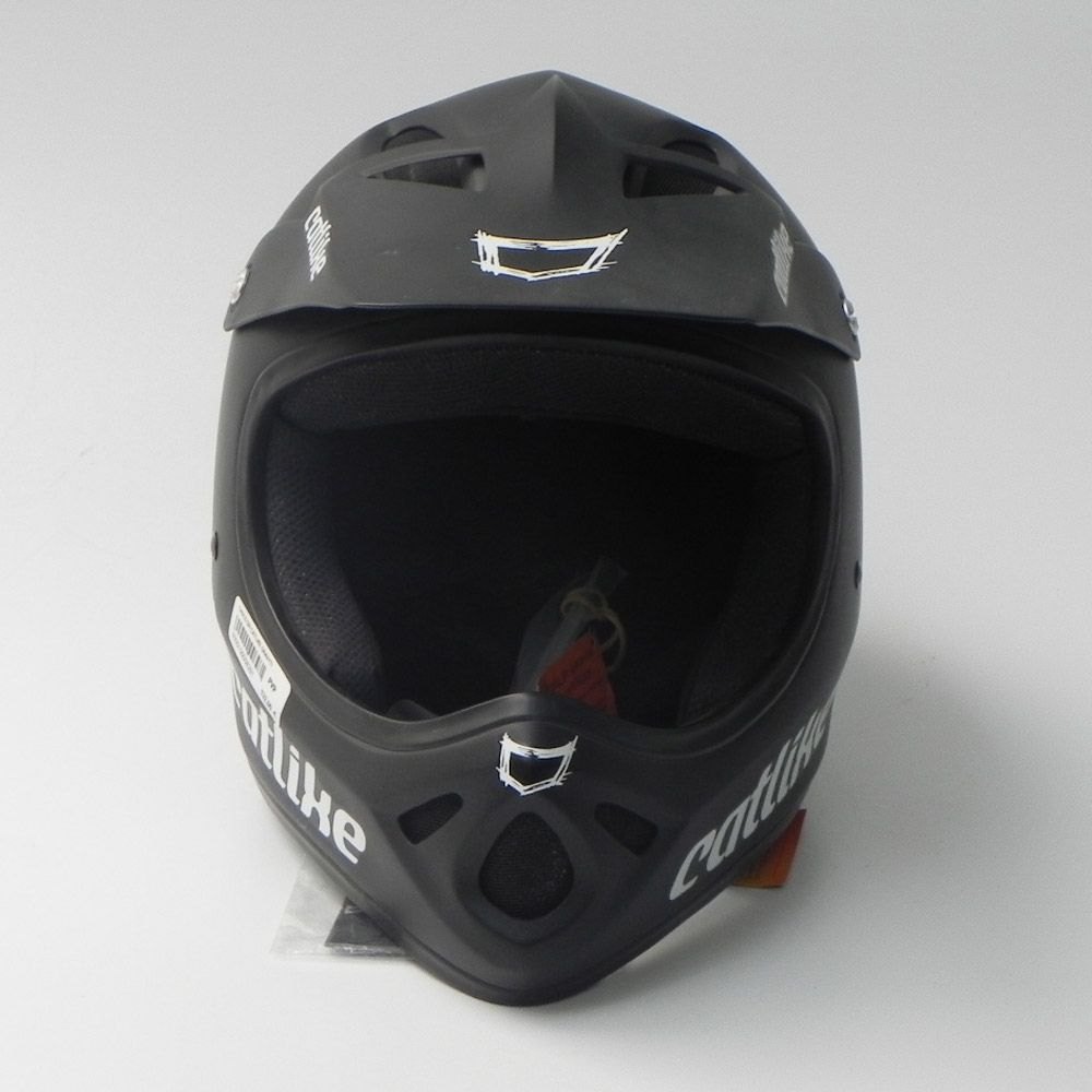 Casco DH Catlike Gravity Negro vista frontal