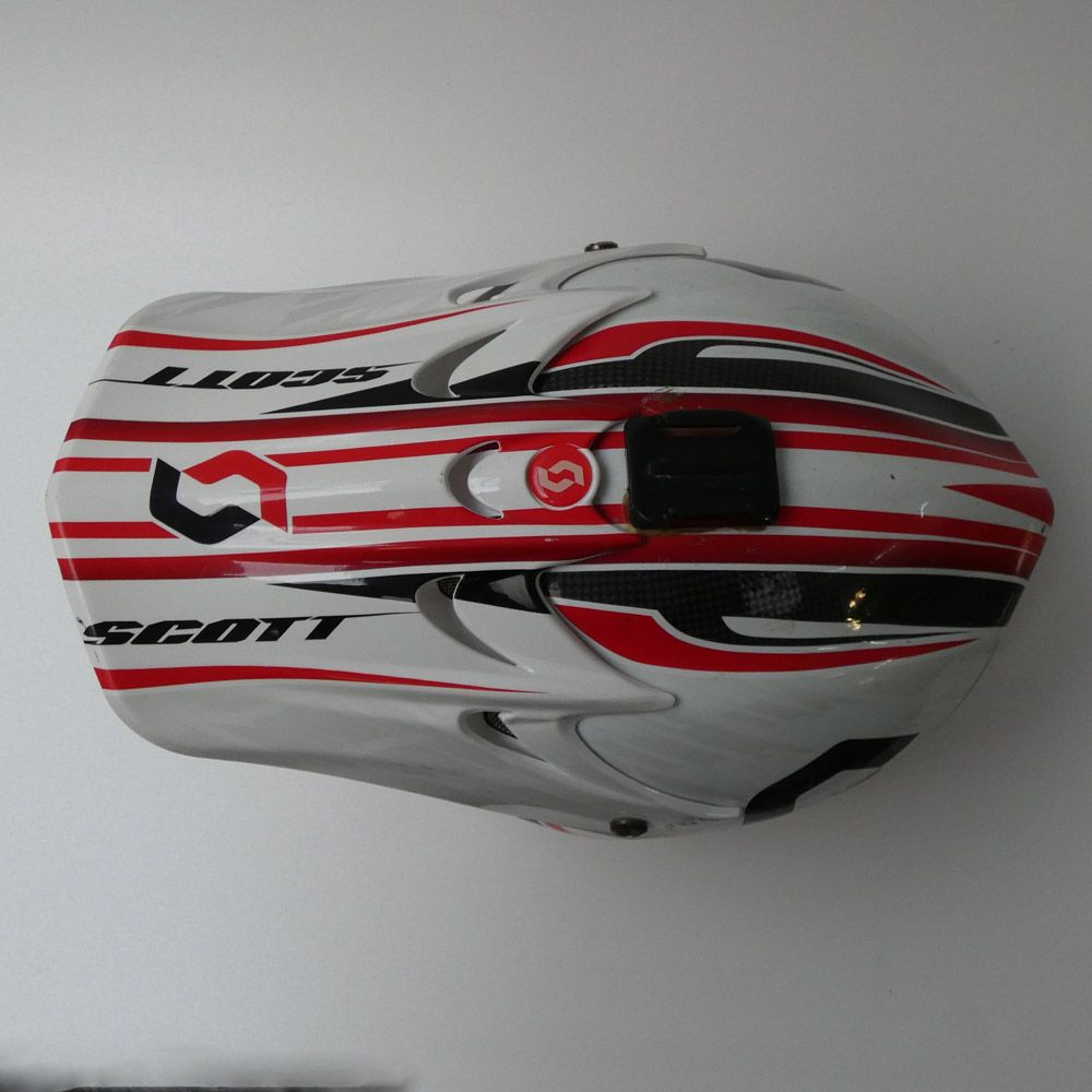Casco Scott Spectre Carbon 2011 vista superior