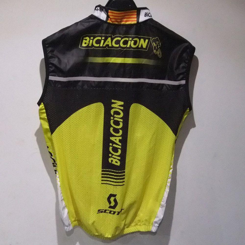 Chaleco chiffon  Biciaccion 2016 espalda