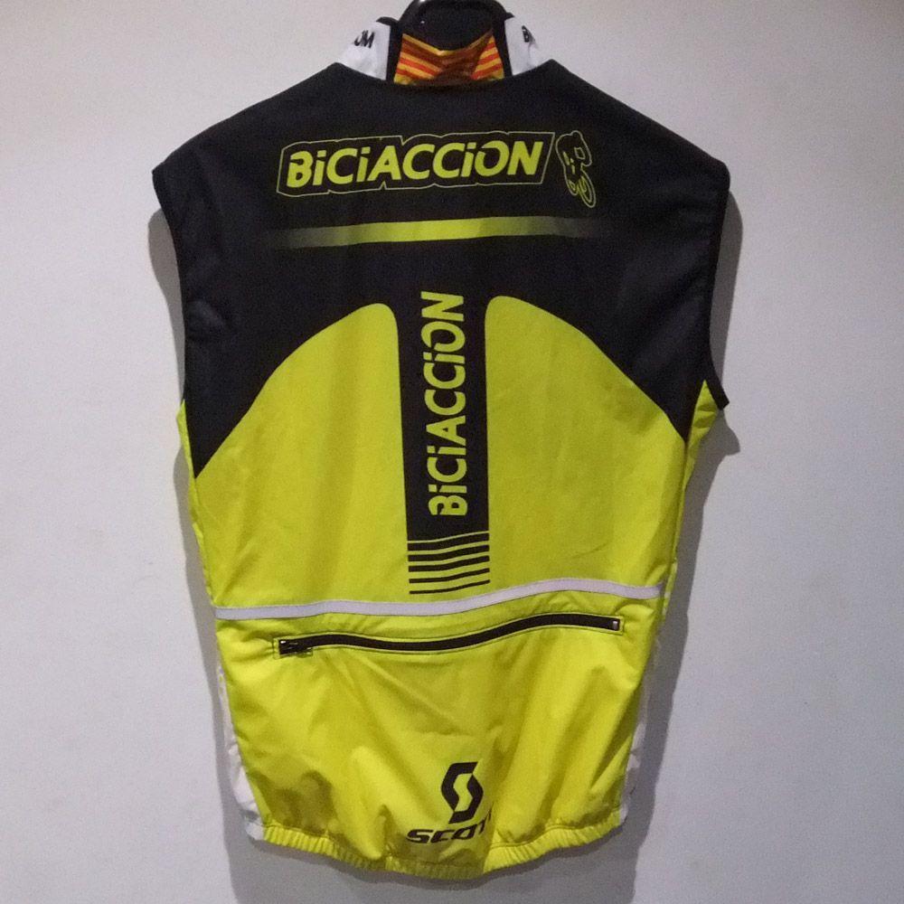Chaleco Integral  Biciaccion 2016 espalda