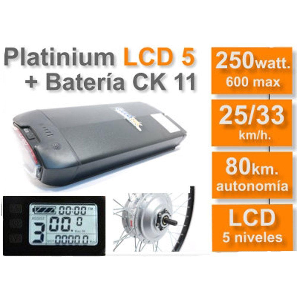 Kit Eléctrico Ciclotek Platinium LCD5 Bateria CK 36V 11Ah