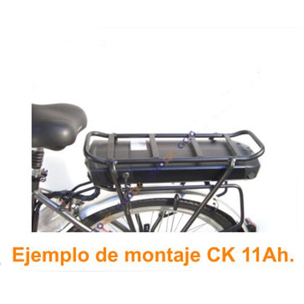 Kit Eléctrico Ciclotek Platinium LCD5 Bateria CK 36V 11Ah transportin