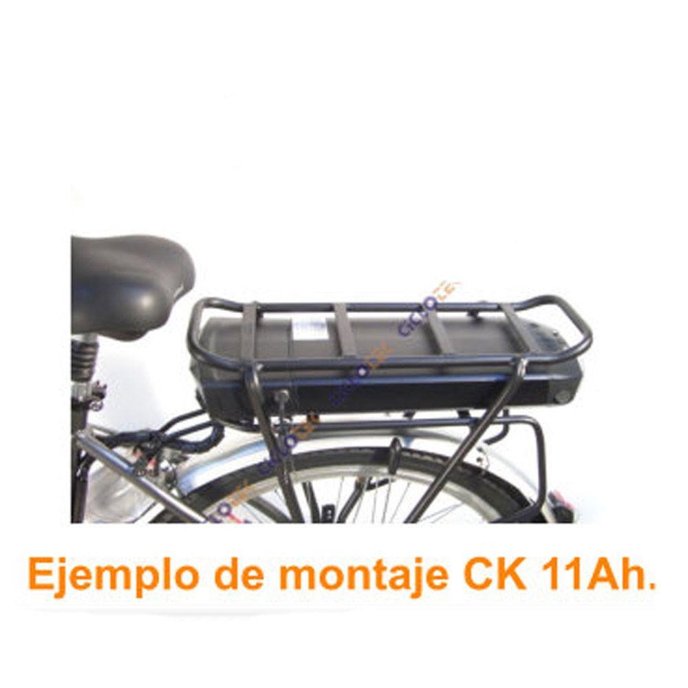 Kit Eléctrico Ciclotek Platinium LCD5 Bateria CK 36V 14.5Ah transportin
