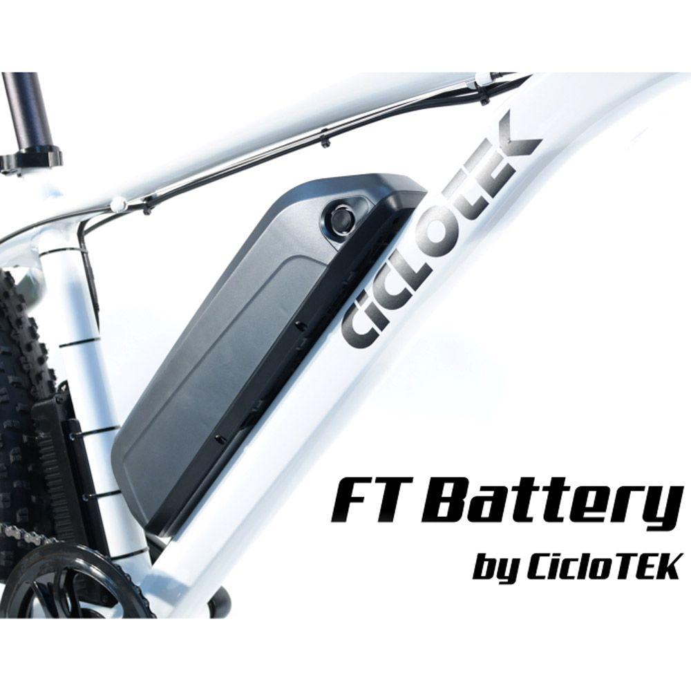 Kit Eléctrico Ciclotek Platinium LCD5 Bateria FT 36V 11A bateria