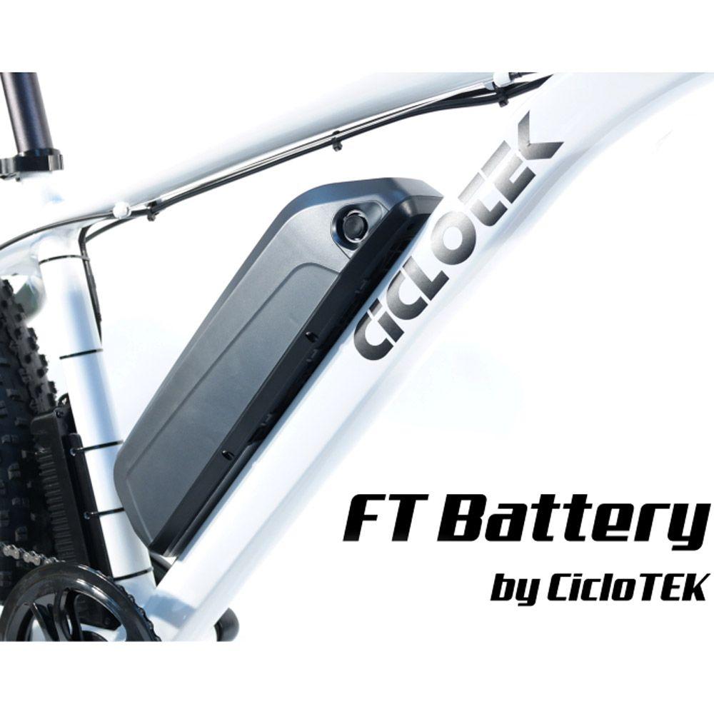 Kit Eléctrico Ciclotek Platinium LCD5 Bateria FT 36V 14.5A bateria