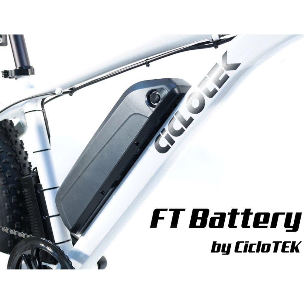 Kit Eléctrico Ciclotek Platinium LCD5 Bateria FT 36V 9A bateria