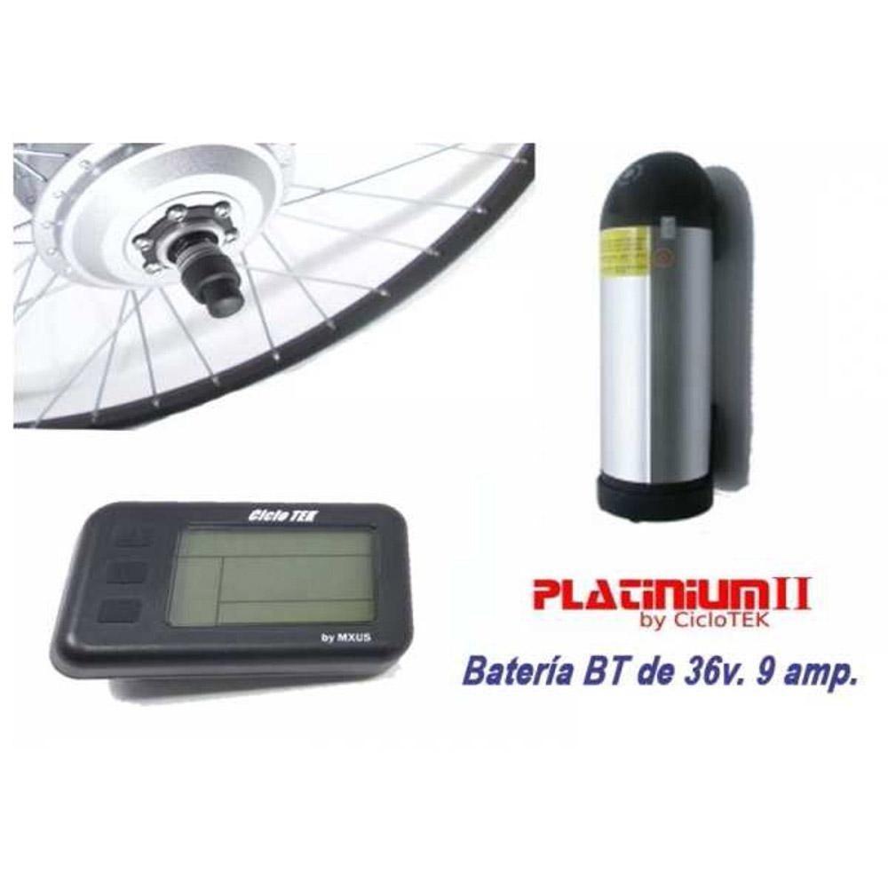 Kit Motor Eléctrico Ciclotek Platinium BT 36V 9A