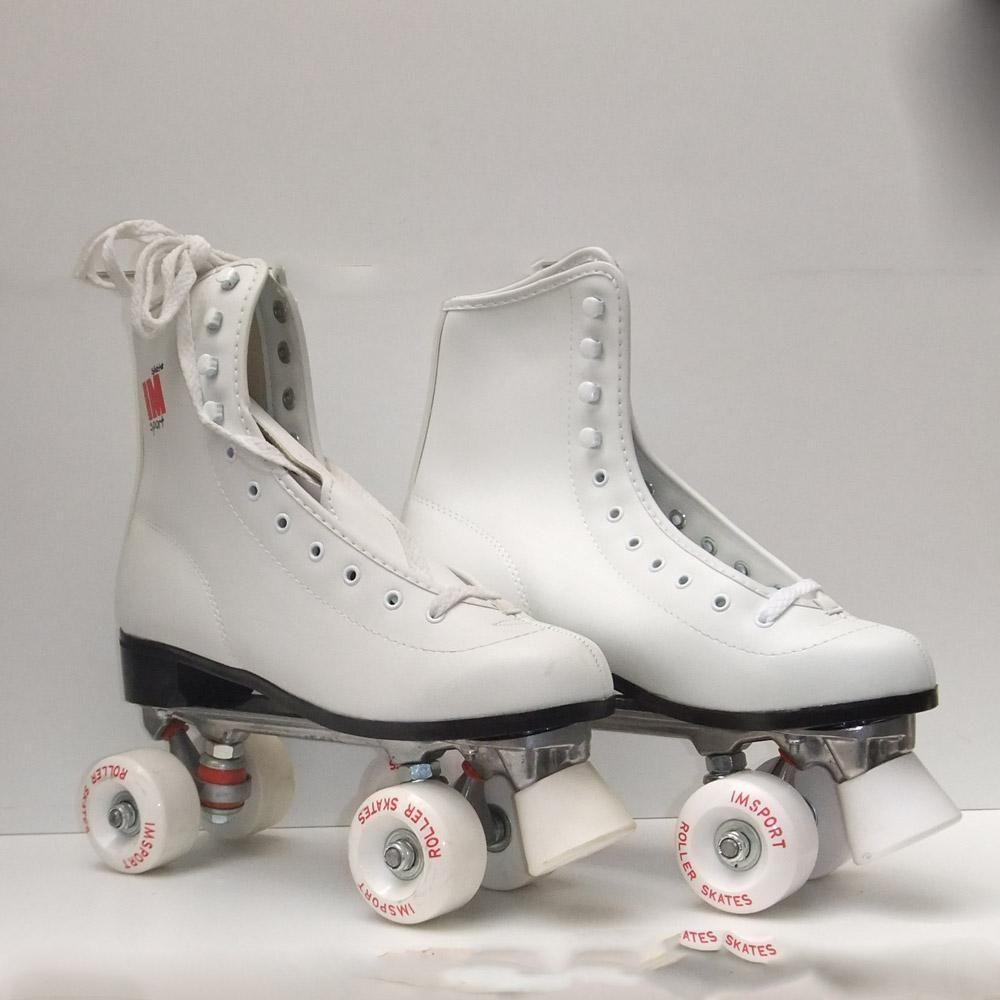 Patines para patinaje artistico roller skate vista lateral