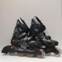 Patines en linea skate im sport speed race vista lateral