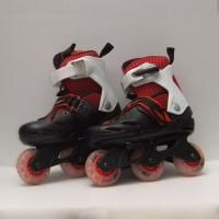 Patines regulables en linea vista par