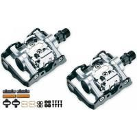 Pedales Mixtos VP-X93 Mixto Bio Cleat Plata kit