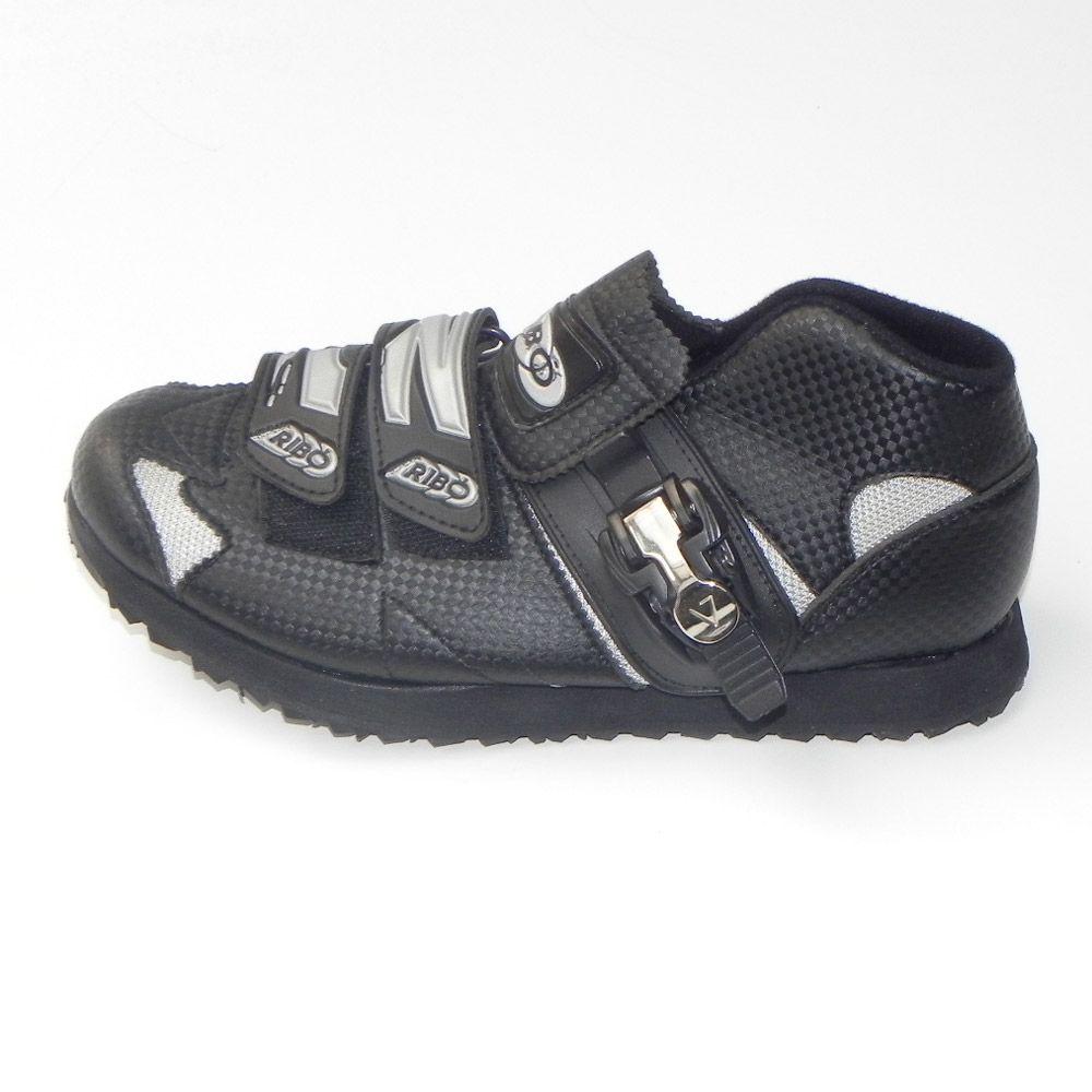 Zapatillas Ribó 3D Negras modelo